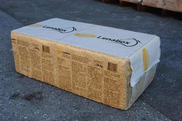Lenabox straw 20-kilogram bale