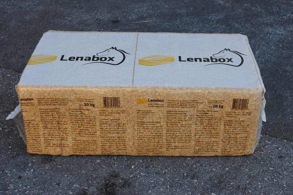 Lenabox balle di paglia in confezioni da 20 kg