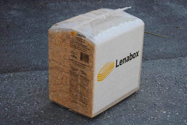 Lenabox straw 8-kilogram bale
